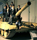 visit to the Tank Shed at the Defence Academy (courtesy of Keith Diment)