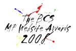 BCS MP Website Awards 2008