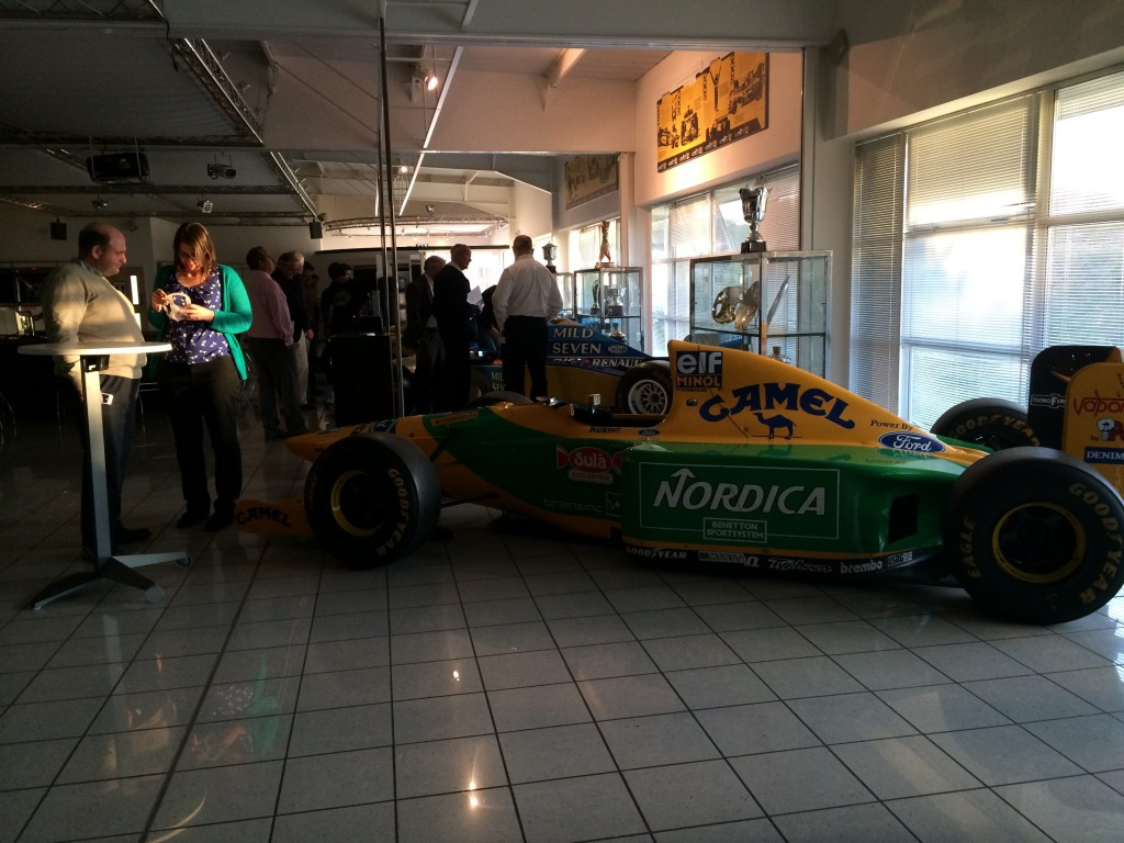 Lotus F1 Showroom