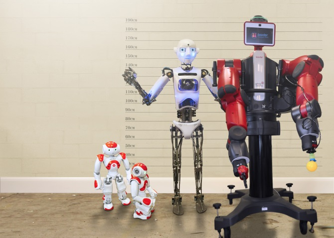 Artie the Robothespian @ Oxford Brookes University, Wheatley Campus | United Kingdom